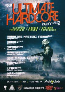 Ultimate Hardcore 2 @ Metroclub Šaľa