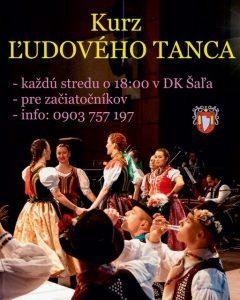 Kurz ľudového tanca @ DK Šaľa - estrádna sála