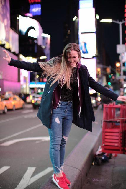 Slovenka v New Yorku