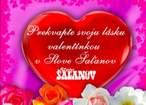 slovo šaľano valentínky 2019