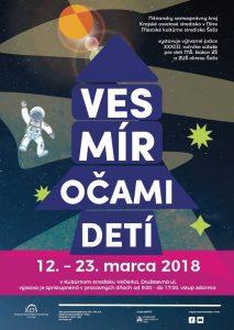 "Výstava výtvarných prác ""Vesmír očami detí"" @ KS Večierka"