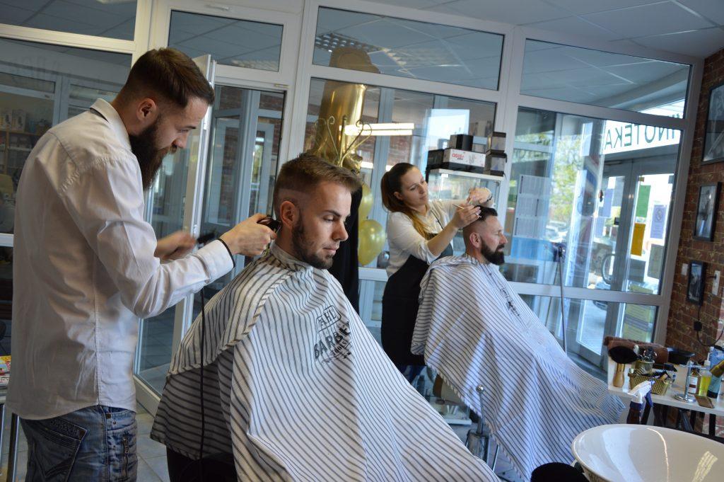 barber shop holičstvo šaľa