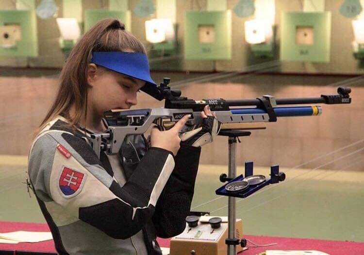 Lea Tomašíková streľba