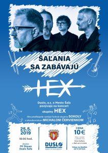 Koncert kapely HEX @ Futbalový štadión FK Slovan Duslo Šaľa