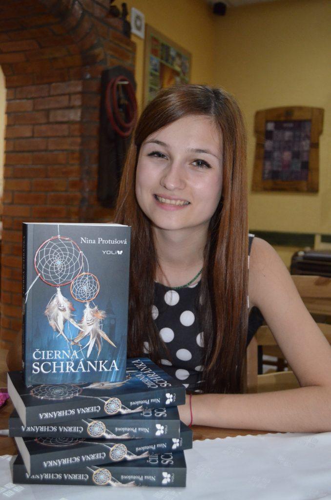 Čierna Schránka krst Nina Pritušová