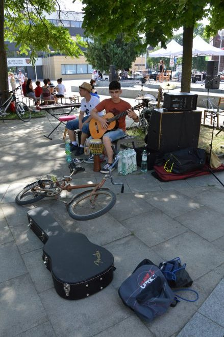 gitaristi zuška v meste