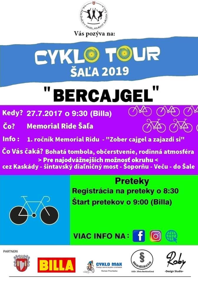 cyklotour bercajgel