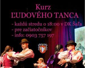 Kurz ľudového tanca @ DK Šaľa