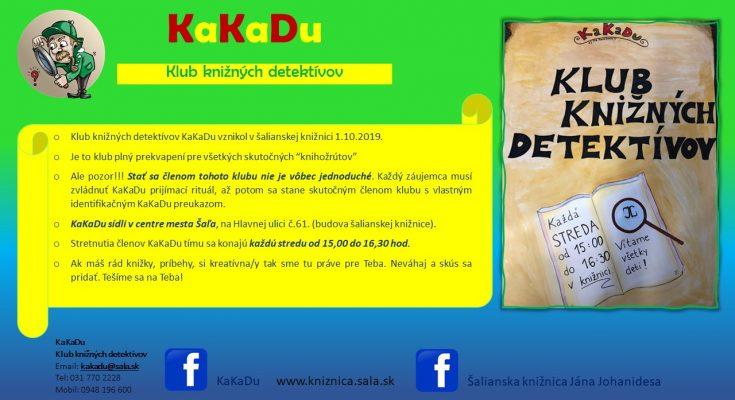 klub knižných detektívov