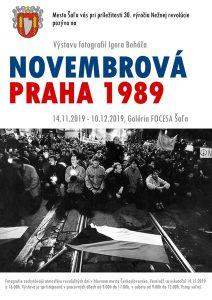 Novembrová Praha 1989 @ Galéria FOCESA Šaľa