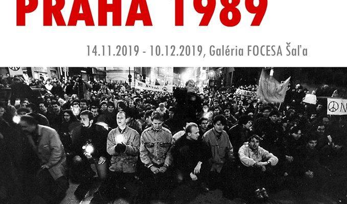Novembrová Praha 1989