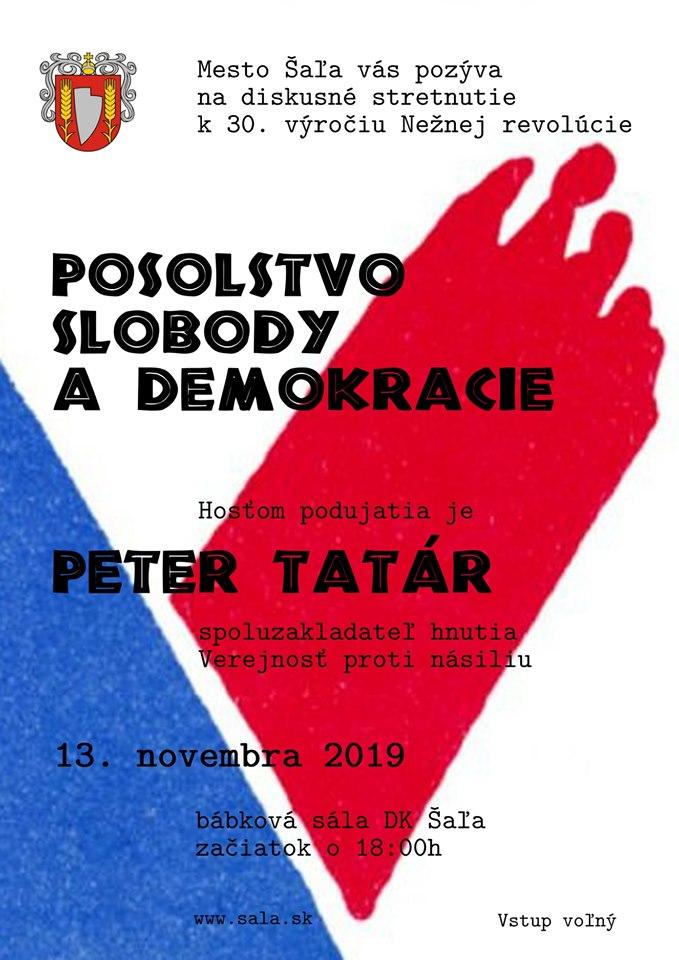 Posolstvo slobody a demokracie
