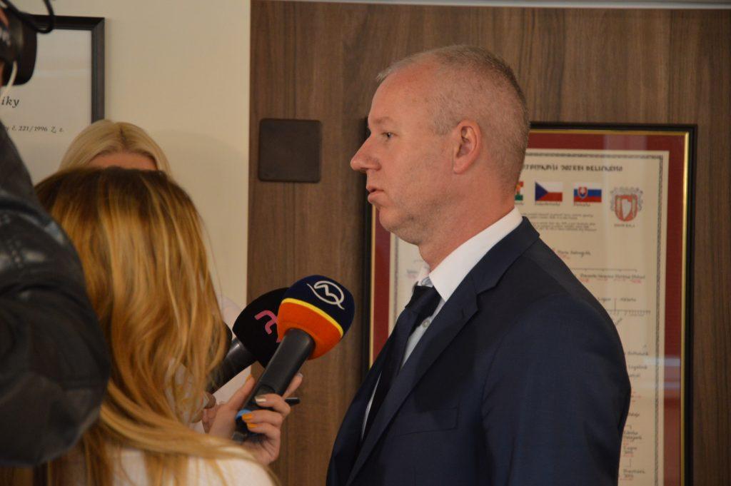 rokovania s Jozefom Göncim Šaľa