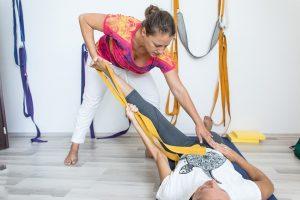 Terapeutická jóga @ V PoHyBe - fyzioterapia