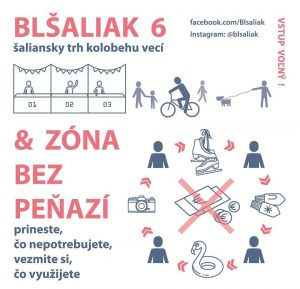 blŠaliak 6 + Zóna bez peňazí @ CVČ Šaľa