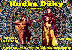 HUDBA DÚHY. RAINBOW MUSIC. @ Čajovňa Na Konci Vesmíru