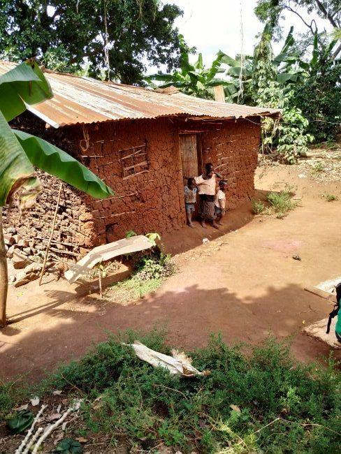 klasický dom dedinskej rodiny