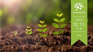 Mikrobiológia pôdy v rukách pestovateľa @ Coworking Šaľa