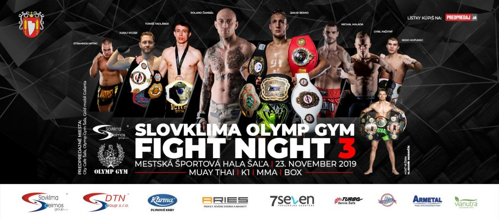 slovklima olymp gym fight night 3