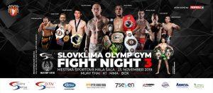 Slovklima Olymp Gym Fight Night III @ Mestská športová hala Šaľa