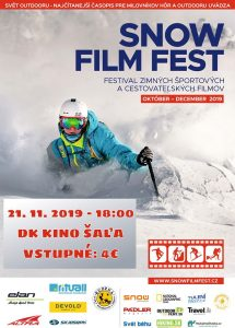 Snow Film Fest @ DK Šaľa - divadelná sála