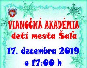 Vianočná akadémia detí @ Divadelná sála DK Šaľa