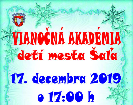vianočná akadémia detí