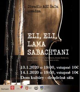 Eli, Eli, lama sabachtani - Divadlo ASI @ DK Šaľa