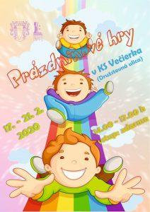 Prázdninové dni pre deti @ KS Večierka
