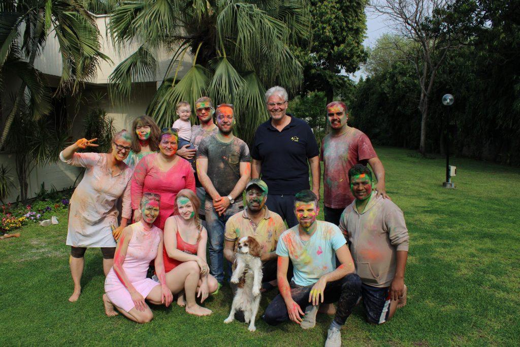 oslava farieb india