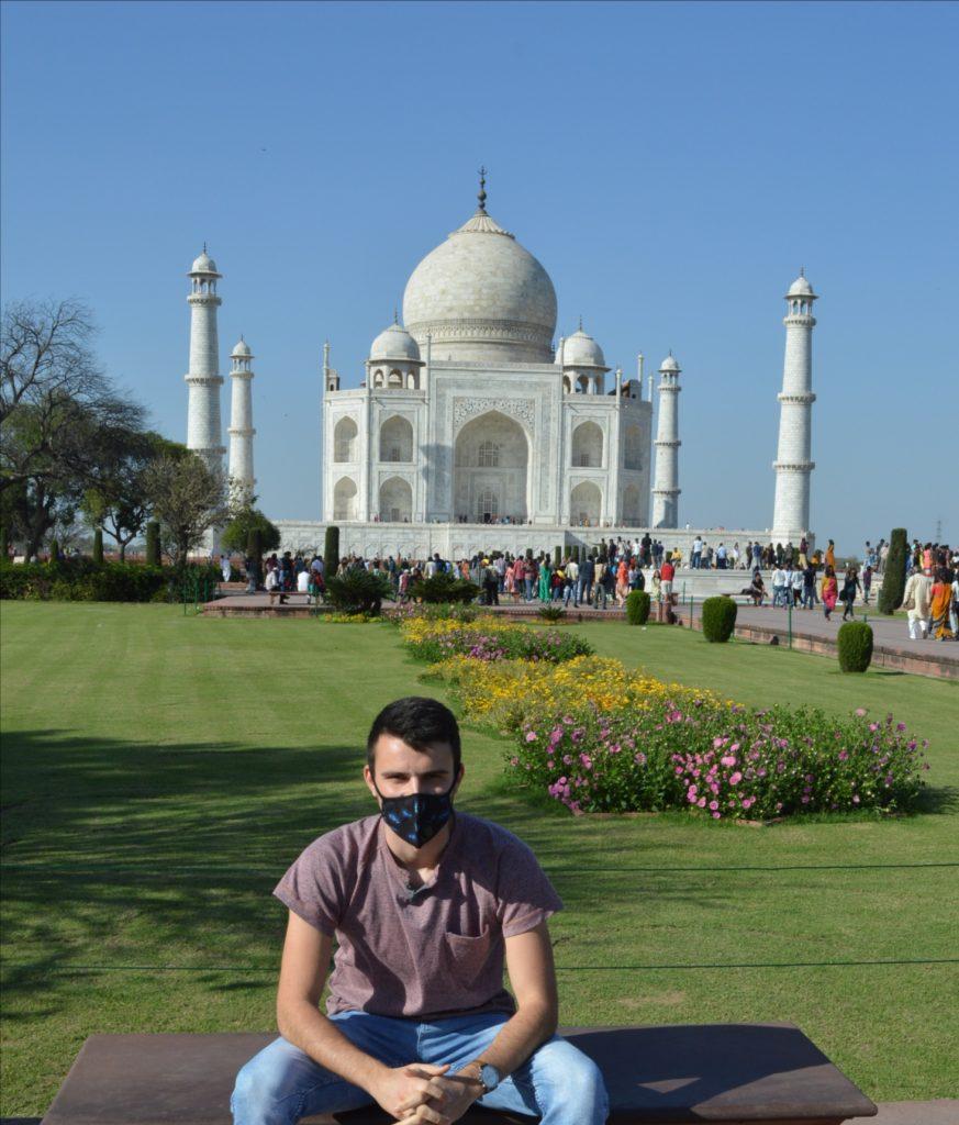 šaľanpeter goldberger na stáži v indi