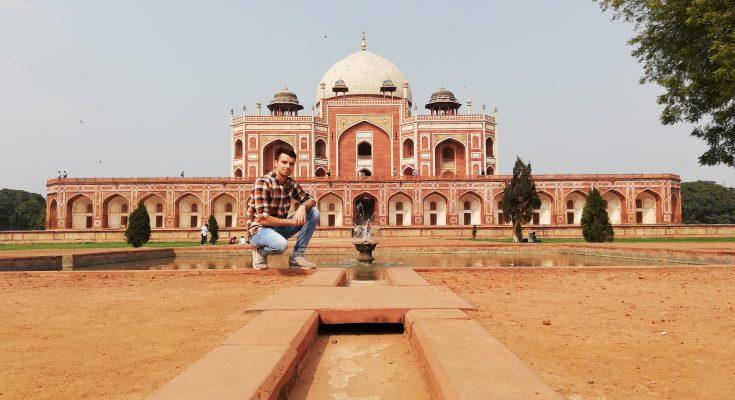 Peter Goldberger n velvyslanectve v Indii