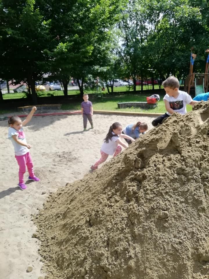 piesok pre deti