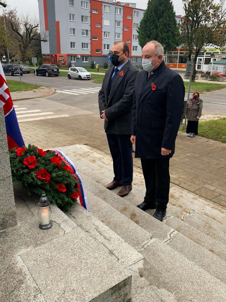 Pomník obetiam vojny šaľa