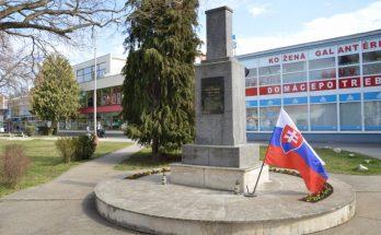pamätník obetiam 2. svetovej vojny šaľa