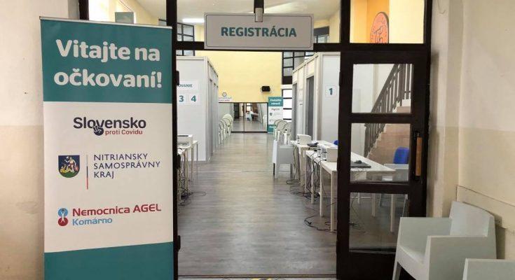 vakcinačné centrum šaľa