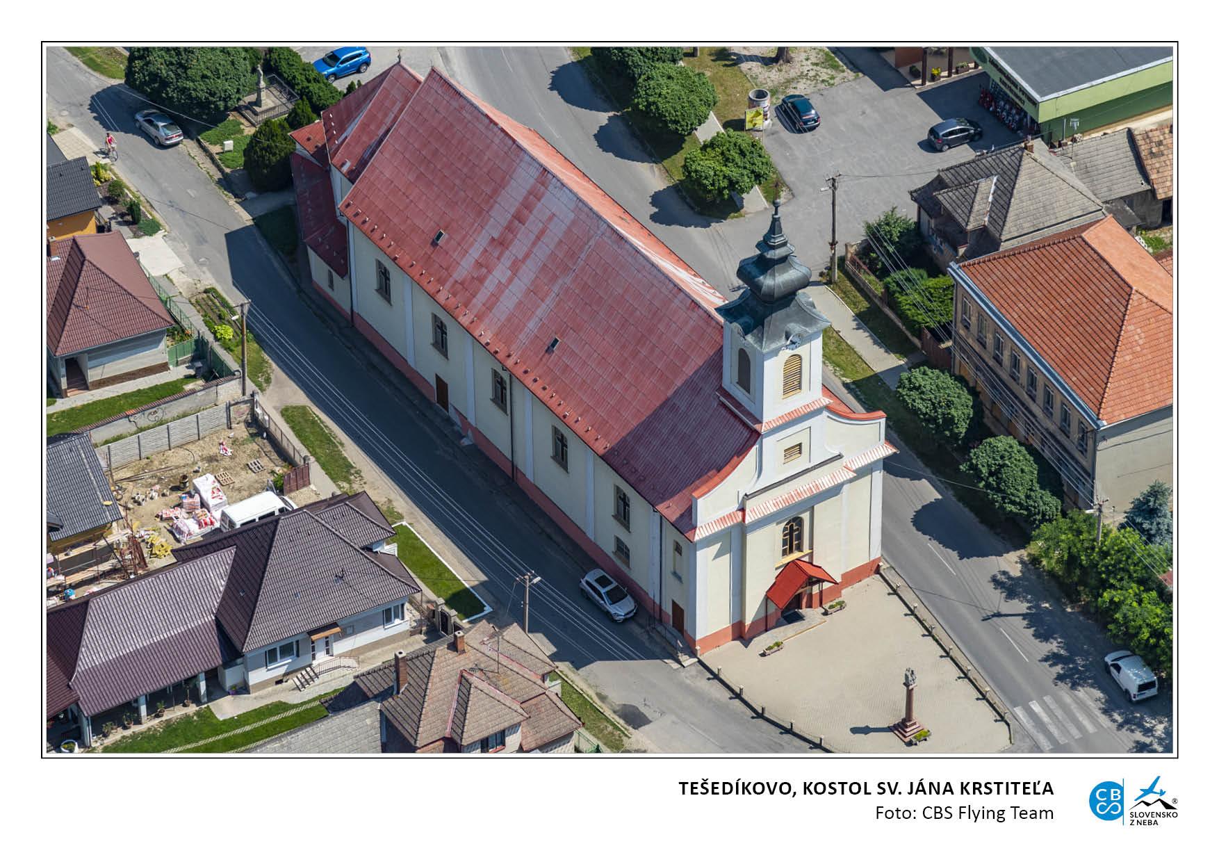 tešedíkovo kostol