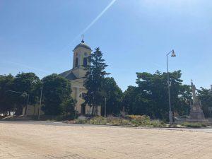 kostol šaľa