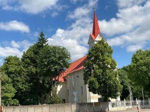 kostol vo veči