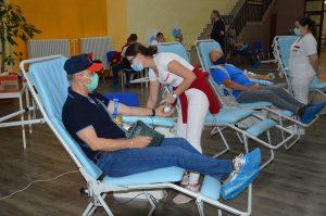 darovanie krvi šaľa